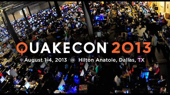 QuakeCon 2013 (Convention) Tournament Lineup Announcement - Header