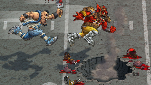 Mutant Football League (360, Android, iOS) Kickstarter Announcement - Screenshot 2