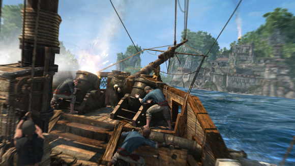 Assassins Creed IV Black Flag (360, PC, PS3) Launch Announcement - Screenshot 2