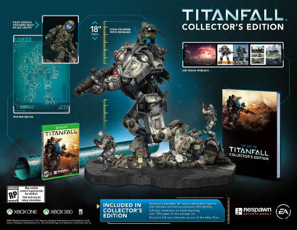 Titanfall (PC, Xbox 360, Xbox One) Collectors Edition Announcement - Art