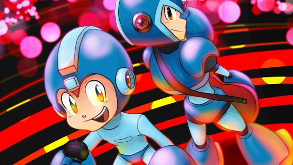 Mega Man (Music) Album Launch Announcements - Art 2