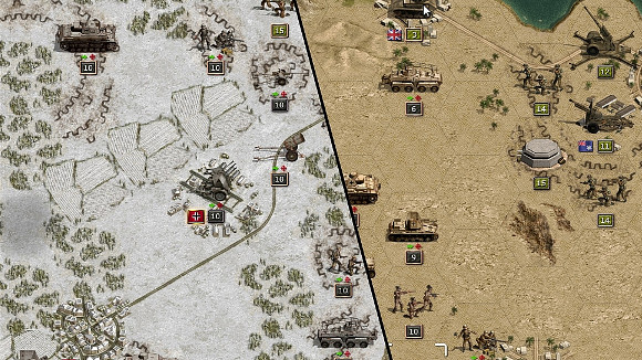 Panzer Corps (iPad, PC) iPad Launch Announcement - Screenshot 2