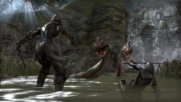 The Elder Scrolls Online (Mac, PC, PS4, Xbox One) Release Date Announcement - Screenshot 1