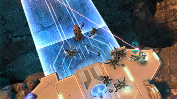 Halo Spartan Assault (360, PC, Windows Phone) 360 Announcement - Screenshot 1