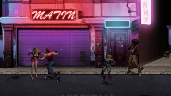 Double Dragon Neon (360, PC, PS3) Steam Launch Announcement - Screenshot 3