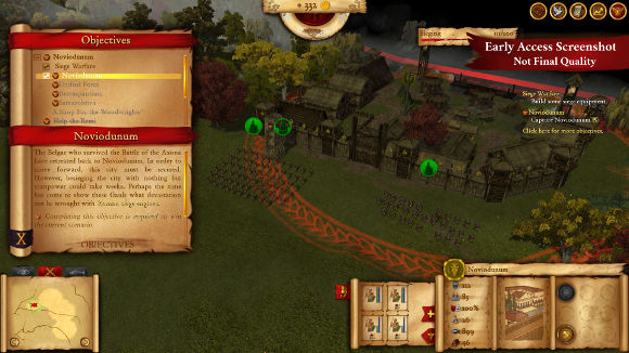 Hegemony Rome The Rise of Caesar (PC) Steam Early Access Announcement - Screenshot 4