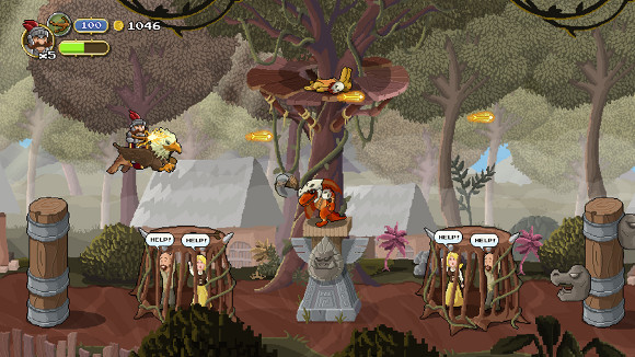 Gryphon Knight Epic (PC) Kickstarter Announcement - Screenshot 1