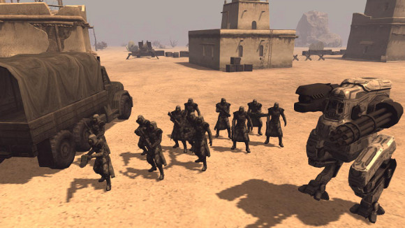 Mechs Mercs Black Talons (PC) Announcement - Screenshot 1