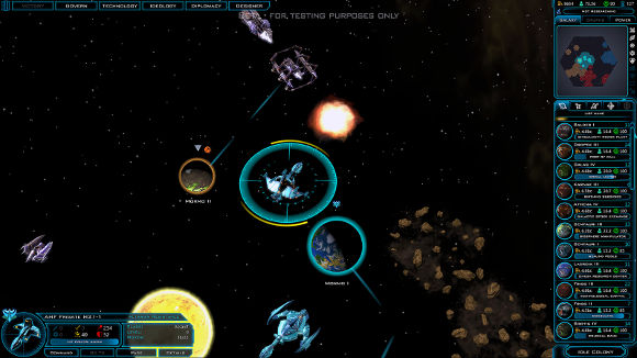 Galactic Civilizations 3 (PC) Beta Launch Announcement - Screenshot 3