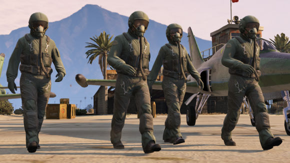 Grand Theft Auto V (360, PS3) Online Flight School Launch Screenshots - Screenshot 10