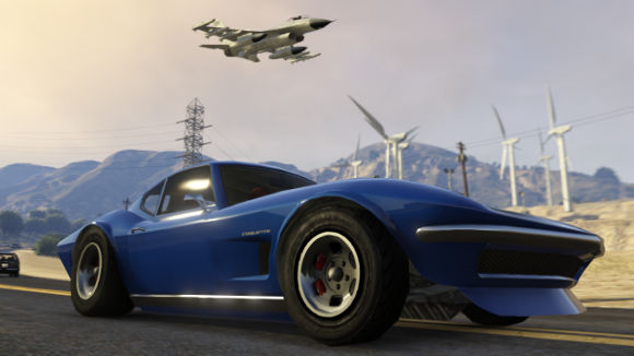 Grand Theft Auto V (360, PS3) Online Flight School Launch Screenshots - Screenshot 4