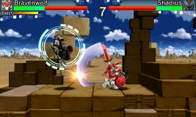 Tenkai Knights Brave Battle (360, PS3) LE Announcement - Screenshot 4