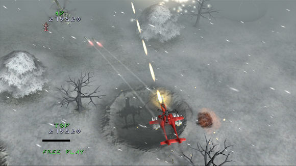 Under Defeat HD Deluxe Edition (360, PS3) Live Arcade Launch Announcement - Screenshot 5