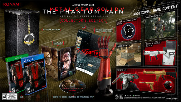 Metal Gear Solid V The Phantom Pain (360, PS3) Release Date and Editions Announcement - Screenshot 5 (Art 1)