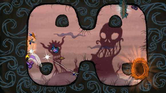 Paperbound (PC, PS4) Launch Announcement - Screenshot 1