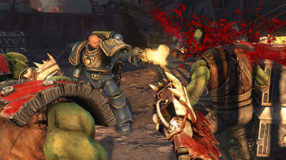 Warhammer 40K Space Marine (PC, PS3, Xbox 360) PC Steam Update - Screenshot 1