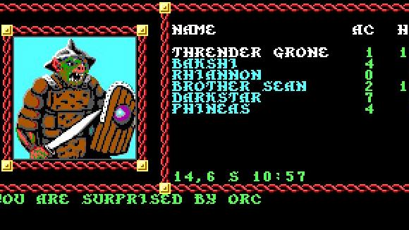 GOG (PC) Pool of Radiance - Screenshot 1
