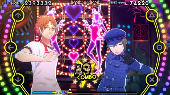 Persona 4 Dancing All Night (PS Vita) Kanji and Yosuke Trailers Announcement - Screenshot 1