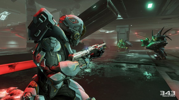 Halo 5 Guardians (Xbox One) REQ System Trailer Announcement - Screenshot 4