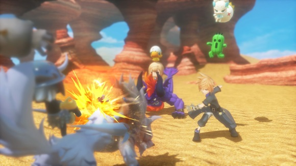 World of Final Fantasy (PS4, PS Vita) Trailer Announcement - Screenshot 1