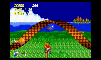 3D Sonic the Hedgehog 2 (3DS) Launch Announcement - Screenshot 1