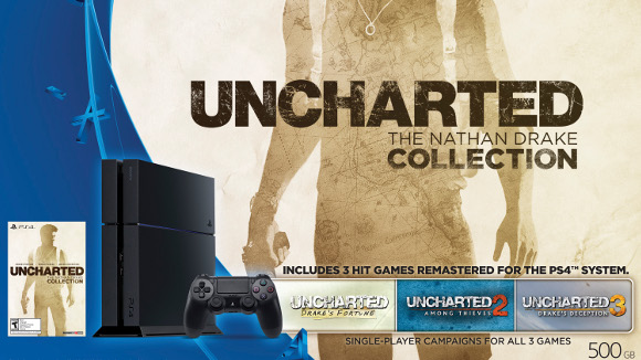 PlayStation 4 (Console) Uncharted Collection Bundle - Art