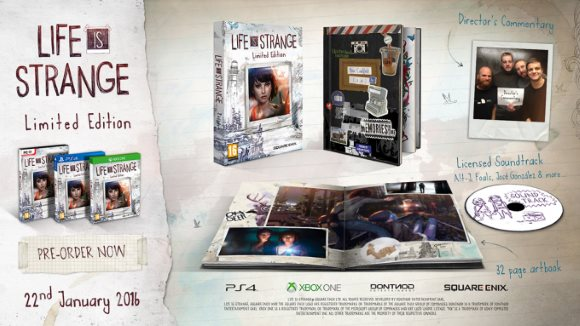 Life is Strange (360, PC, PS3, PS4, Xbox One) Physical Announcement - Header