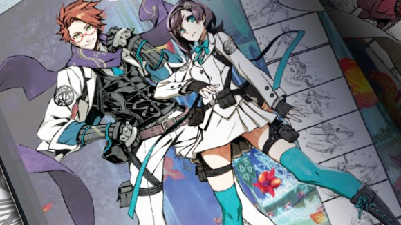 7th Dragon III Code VFD (3DS) Art Book Announcement - Header