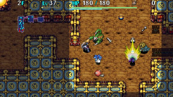 Shiren The Wanderer The Tower of Fortune and the Dice of Fate (PS Vita) Announcement - Screenshot 1