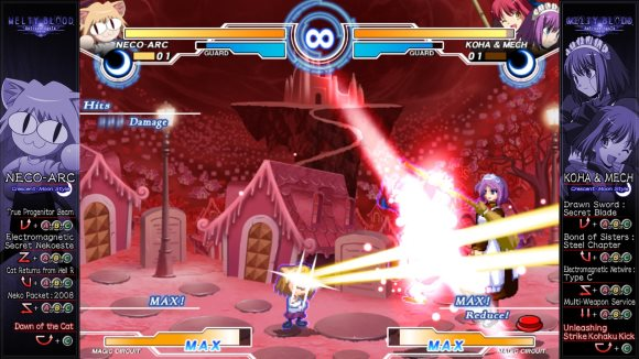 Melty Blood Actress Again Current Code (PC) Steam Announcement - Screenshot 4