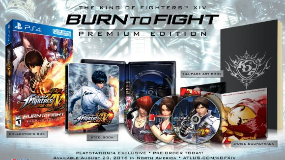 The King of Fighters XIV (PS4) Premium Edition Announcement - Screenshot 1