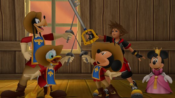 Kingdom Hearts HD 2.8 Final Chapter Prologue (PS4) June Trailer Announcement - Screenshot 1