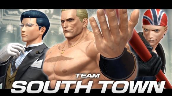 The King of Fighters XIV (PS4) Team South Town Announcement - Header