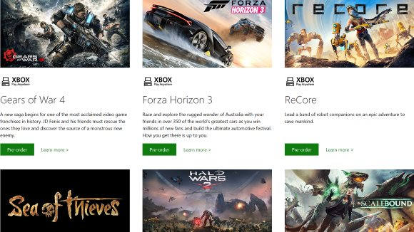 Xbox One (PC, Xbox One) Windows Store Announcement - Header