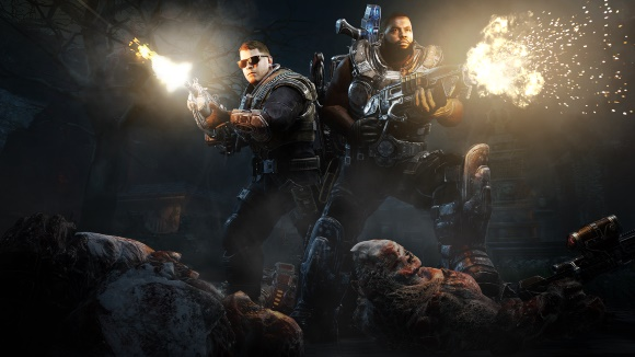 Gears of War 4 – Run the Jewels Air Drop deploys EL-P, Killer Mike